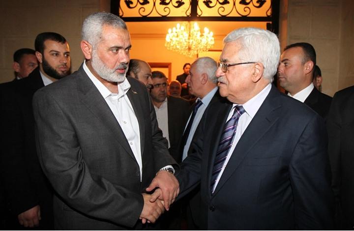 عباس وهنية يتفقان على خطوات لمواجهة قرار ترامب حول القدس