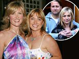Wendy Webster Turner is pictured with her sister Anthea Turner
