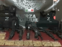 Los Zetas Cartel Stockpiling Weapons near Texas Border
