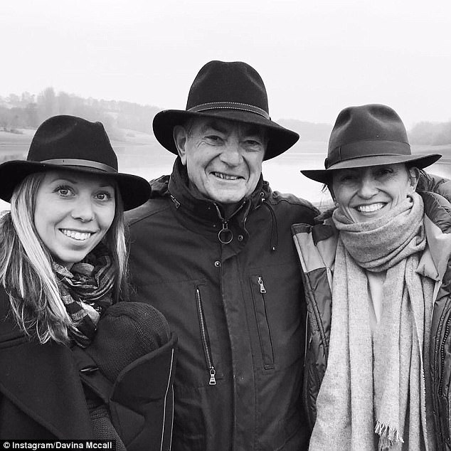 Back in April, Davina confessed her father's diagnosis had made her aware of her own health ¿ resulting in several tearful phone calls to her GP