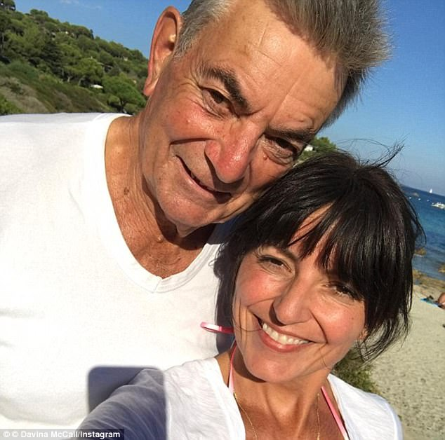 avina McCall has praised her father Andrew (above) as incredibly 'inspiring', for maintaining such a 'positive attitude' during his Alzheimer's