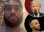 NBA superstar LeBron James posted a video to social media on Saturday calling for national unity while explaining that he called President Donald Trump a 'bum' earlier in the day because he was ¿using sports as a platform to divide us¿