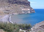 A 44-year-old woman died after getting into difficulty while diving off Veneguera Beach, Gran Canaria (pictured) today