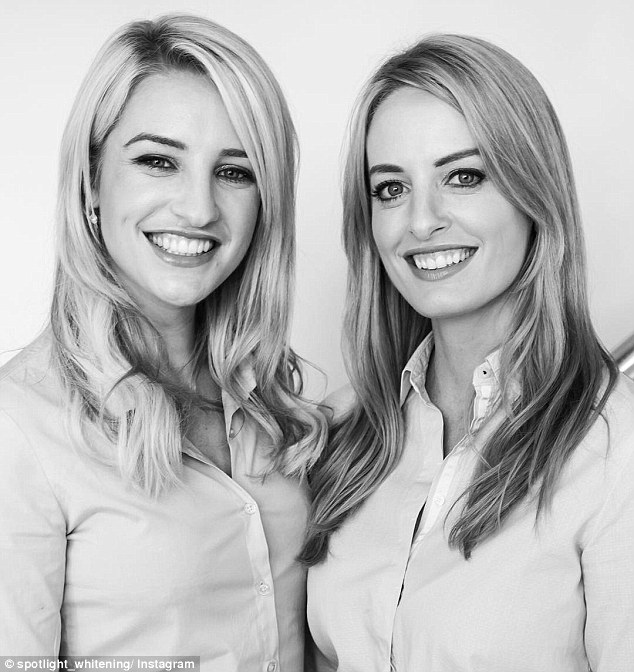Power duo: Spotlight Teeth Whitening Strips were created by sister dentists from Ireland, Lisa and Vanessa Creaven