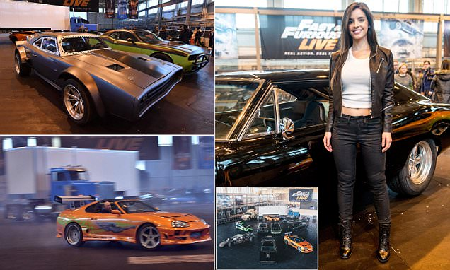 Fast and Furious takes to the stage at London's O2 Arena