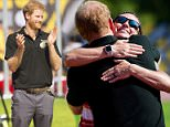 Prince Harry arrived atthe York Lion Stadium in Toronto for the Invictus Games on Sunday