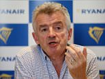 Airline boss Michael O¿Leary has apologised to outraged passengers