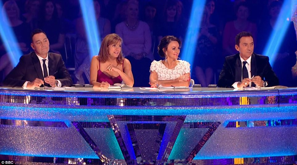 New line-up: Former international Latin star Shirley Ballas made her debut as head judge following Len Goodman's departure last year