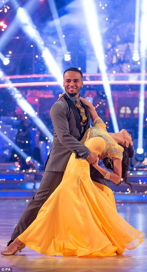 Spectacular: Darcey told Aston and his partner Janette Manrara: 'Craig is right - you¿re one to watch!'