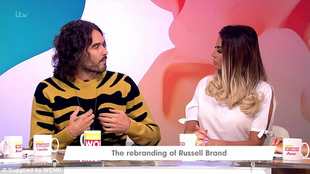 'Stop propping him up!' Russell Brand dishes out tough love about Kieran Hayler's sex addition and says 'he has to surrender and accept help' as Katie Price begs him for marriage advice