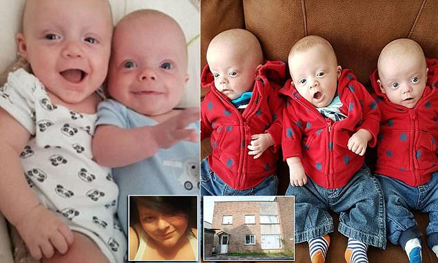 Neighbours of home where two baby triplets died speak out