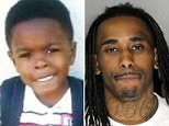 Dante Daniels, eight, was attacked by Deandre Chaney Jr., 23, with a hammer on September 1st in South Sacremento, California, while trying to protect his sister