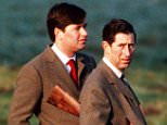 Prince Charles, pictured right, with Michael Fawcett in December 1992