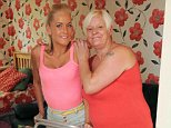 In 2012 Chantelle Serginson suffered two brain haemorrhages, a broken jaw and multiple leg fractures after dropping six storeys onto concrete (pictured right with her mother Kimberley)