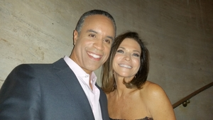 Holiday House Co-Chair Iris Dankner & CBS News Anchor Maurice Dubois