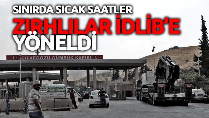 Zırhlılar İdlib'e yöneldi
