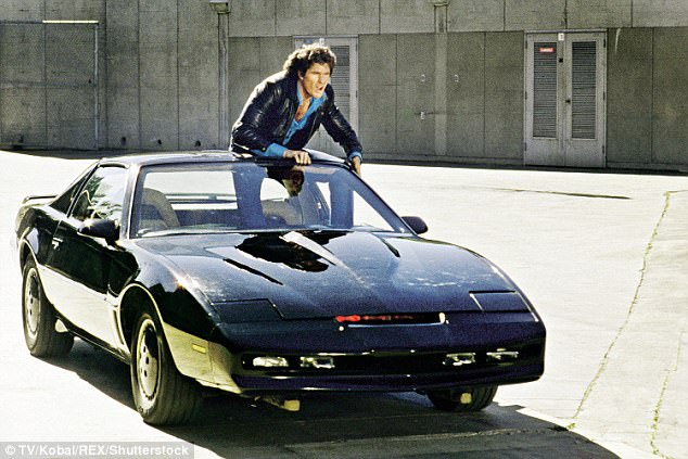 Hasselhoff got his big break as a 23-year-old in the soap The Young And The Restless, before landing the lead role in Knight Rider in 1982