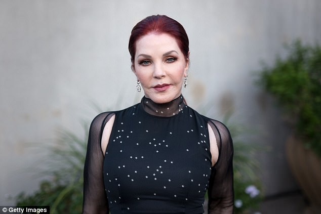 In town:Priscilla Presley made a surprise appearance on WSFM 's Jonesy and Amanda show on Friday, to promote her Australian tour appropriately titled Elvis and Me