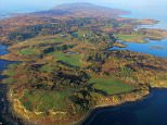 It was once a bustling Scottish outcrop where 570 islanders made their home - now just six remain on the isle. Pictured, concerned islands fear they'll be may homeless if the land is taken over