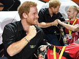 Mandatory Credit: Photo by Tim Rooke/REX/Shutterstock (9084451ai)\nPrince Harry and Mark Ormrod\nInvictus Games, Toronto, Canada - 26 Sep 2017