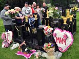 Friends and family from the traveller community gathered in Pontypridd, Wales, on Wednesday to bid a final farewell to Ruby Pearl Marshall, known as Queen of the Gipsies, as her elaborate grave was completed