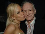 Hugh Hefner's former girlfriend and playboy model Kendra Wilkinson is the latest bunny to pay tribute to the the media media mogul following his death on Wednesday. They are pictured together during his 81st birthday in 2007