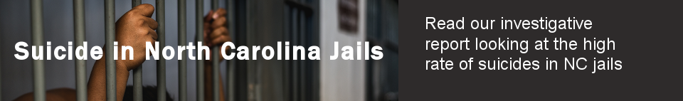 Read our investigative report looking at the high rate of suicides in NC jails