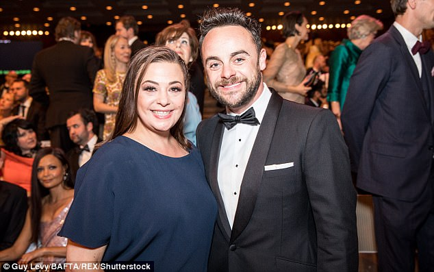 Claims: Ant McPartlin and Lisa Armstrong have been rocked by claims of trouble within their 11 year marriage