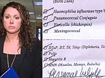Detroit mother Rebecca Bredowis refusing to go against her beliefs on vaccinating her child - even if it means serving time behind bars