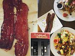 A thicker, more carefully cooked seasoned bacon has grown increasingly popular among West Coast brunch-goers
