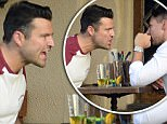 EXCLUSIVE: A Mark Wright engages in a heated conversation with a friend over some beers at a bar in West Hollywood!..Photographed 27th September 2017...<P>..Pictured: Mark Wright ..<B>Ref: SPL1590637  270917   EXCLUSIVE</B><BR/>..Picture by: Splash News<BR/>..</P><P>..<B>Splash News and Pictures</B><BR/>..Los Angeles: 310-821-2666<BR/>..New York: 212-619-2666<BR/>..London: 870-934-2666<BR/>..photodesk@splashnews.com<BR/>..</P>