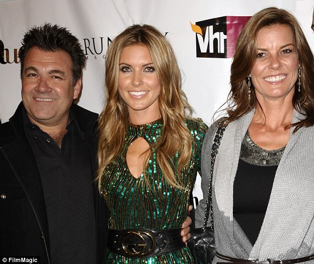 Her parents:'She is extremely close with her parents [Lynne and Mark], brother [Marky] and sister and they are all supporting her,' said a source. Seen in 2011