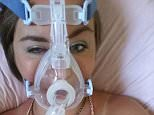 Happier days: Natasha Lynch, 24, from Liverpool, is now paralysed from the waist down and blind in one eye, breathing through a ventilator and feeding through a tube