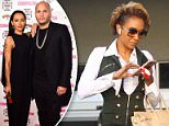 Back in court: Mel B was spotted at the Los Angeles Superior Court alongside her therapist Dr Charles Sophy - but her estranged husband Stephen Belafonte was a no-show