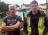Delivery drivers Blake Callus, 23, and his driver father Paul, 45, are facing the sack after refusing to hand over a package to comedian Dom Joly