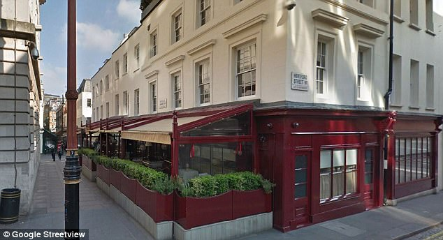 Witnesses said they'd seen Warne become involved in an argument with the glamour model in Loulou's nightclub (pictured) on Friday night, after which she fell to the floor holding her face