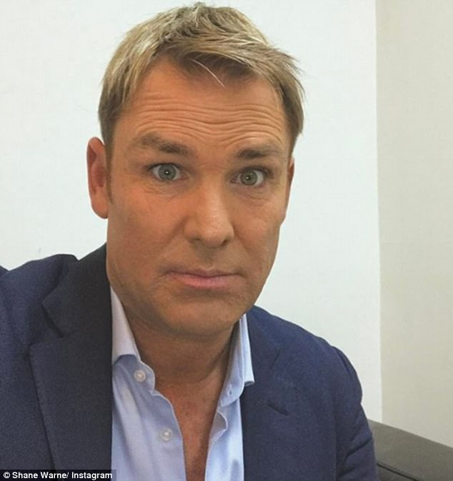 Police confirmed that a 48-year-old man, believed to be Warne, was questioned under caution in London on Sunday and released without charge