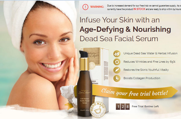 dead sea spa elixir