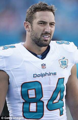 Jordan Cameron is pictured above