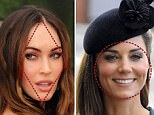 The heart shaped faced as epitmoised by Reese Witherspoon.Hollywood star Megan Fox has the face most women desire due to her ''diamond-shaped'' features, new scientific research has claimed.
