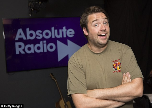 From one stage to another:Nick isn't the first TV personality to try his hand in the recording studios, following comedian Jason Manford who released A Different Stage earlier this year