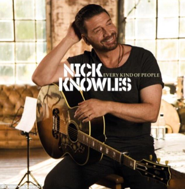 Career change:Nick Knowles has announced the release of his first album as he compares his deep, distinctive voice to that of George Ezra