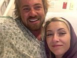 Braden Matejka, 30, was shot in the head as he fled the Route 91 Harvest festival with his girlfriend Amanda Homulos on Sunday. He was discharged from Sunrise Hospital on Wednesday and will now be driven home