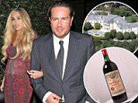 Mishap: James Stunt and Petra Ecclestone
