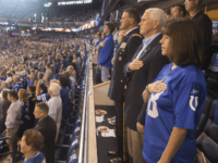 VP Pence After Leaving Colts Game on Sunday: 'I Will Not Dignify Any Event That Disrespects Our Soldiers, Our Flag'