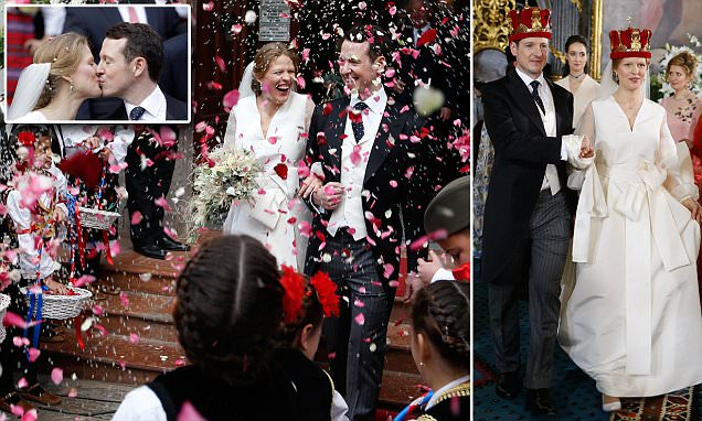 Prince Philip of Serbia weds Danica Marinkovic in Belgrade