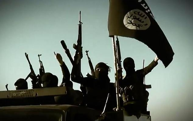 Militants with the Islamic State group control a huge swathe of territory in Iraq and Syria