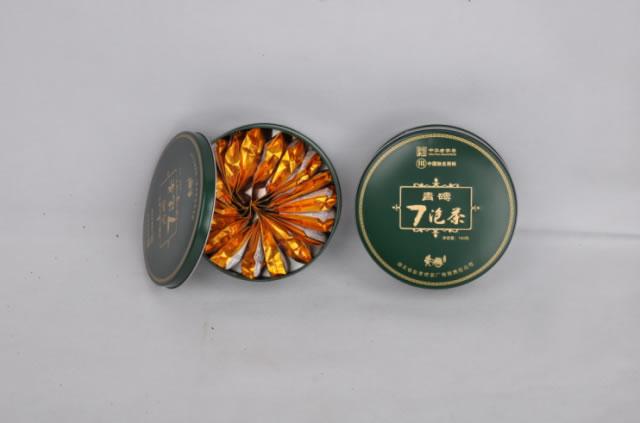 180g七泡茶(铁盒)