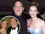 Heather Graham is the latest to accuse movie mogul Harvey Weinstein of trying to force himself on her in exchange for a part in a movie - as five other women have accused the Hollywood executive of sexually assaulting them. She is pictured with him in 2004