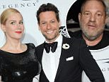 Alice Evans with her husband Ioan Gruffudd. She says rejecting Harvey Weinstein may have ruined both of their careers